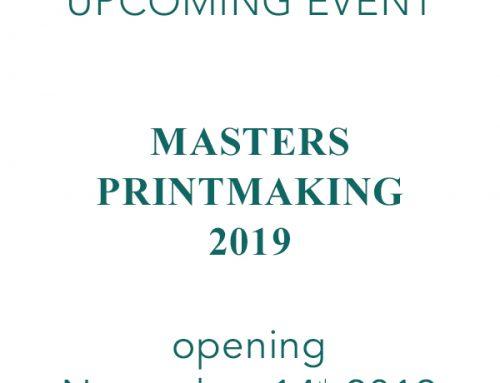 Masters Printmaking 2019